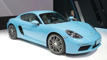 Porsche 718 Cayman - Beijing Show - front