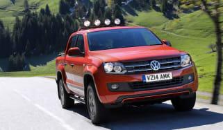 VW Amarok Canyon pick-up front