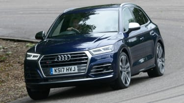 New Audi SQ5 2017 review UK - front