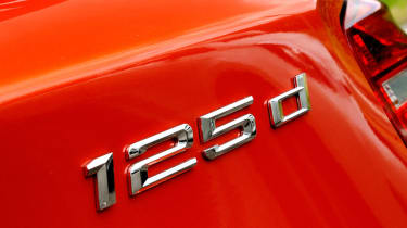 BMW 125d M Sport badge