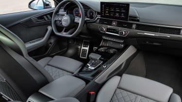 2019 Audi S4 saloon interior