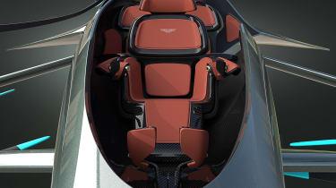 Aston Martin Vision Volante Concept - seats full front