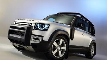 Land Rover Defender - studio front/side