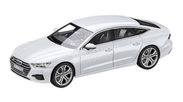 Audi A7 leaked image - white (watermarked)