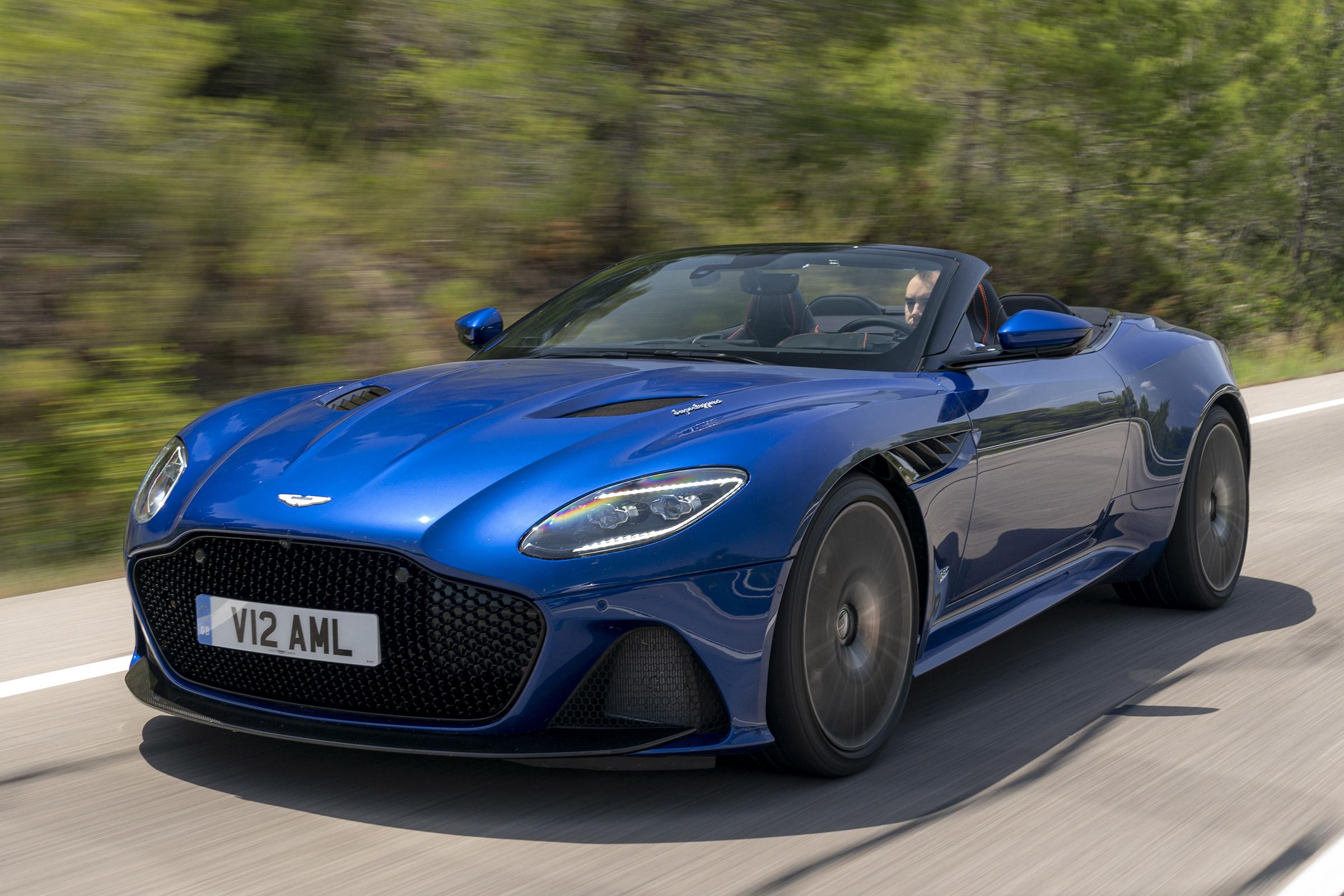 New Aston Martin Dbs Superleggera Volante 2019 Review Auto Express