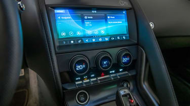 Jaguar F-Type - infotainment screen
