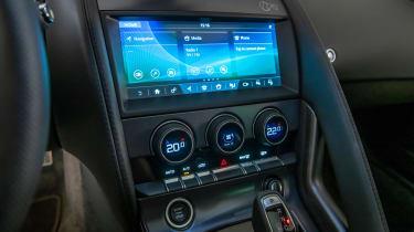 Jaguar F-Type - infotainment screen