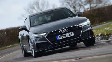 Audi A7 Sportback - front cornering