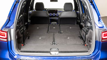 Mercedes GLB - studio boot all seats down