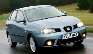 Front view SEAT Ibiza 1.9 Sport