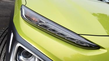 Hyundai Kona Diesel - front light