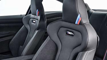 BMW M4 CS - seats