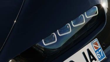 Bugatti Chiron - front light detail