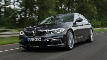 BMW Alpina D5 S - front action