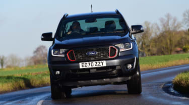 Ford Ranger Thunder - front action
