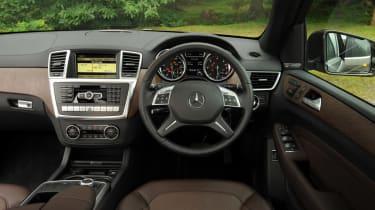 Mercedes ML 250 Bluetec Sport interior