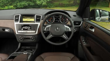 Mercedes ML 250 Bluetec Sport interior