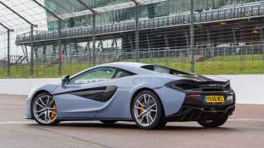 McLaren 570S Track Pack - rear static
