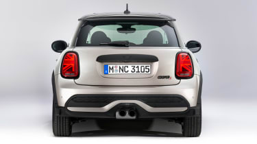 MINI 3-door hatch facelift - full rear