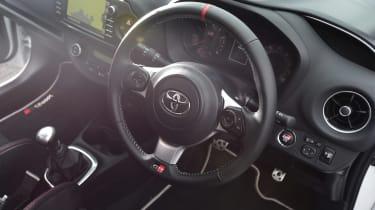 Toyota Yaris GRMN - steering wheel