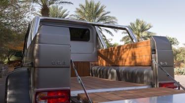 Mercedes G63 AMG 6x6 load bed