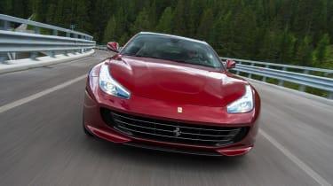 Ferrari GTC4 Lusso - front tracking 2