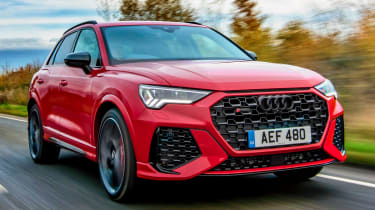 Audi RS Q3 - front tracking