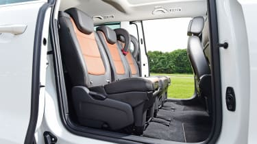 SEAT Alhambra - middle row seats