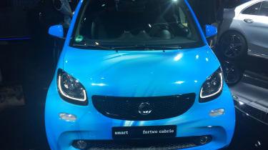 Smart EQ ForTwo Cabrio - Geneva full front