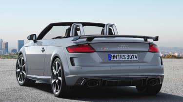 Audi TT RS Roadster - rear static