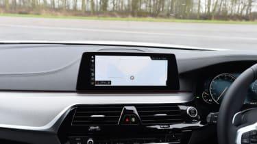 BMW 520d - sat-nav