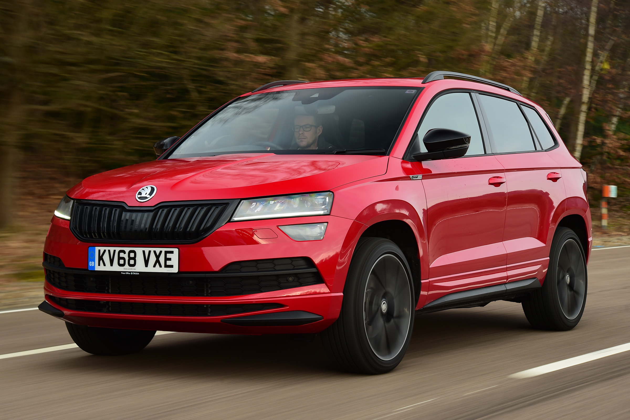 New Skoda Karoq Sportline 2019 Review Auto Express