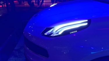 Lynk and Co 03 concept saloon car light