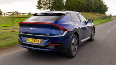 Kia EV6 rear tracking