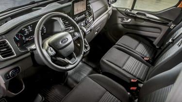 Ford Transit Custom PHEV interior