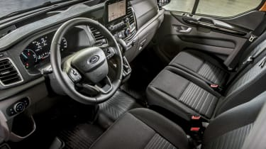 Ford Transit Custom PHEV interior