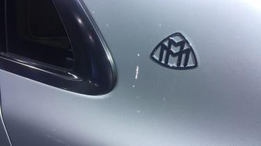 Mercedes-Maybach S-Class - Geneva badge