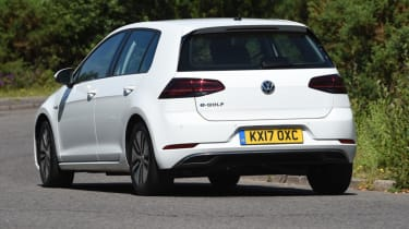 Long-term test - VW e-golf - rear