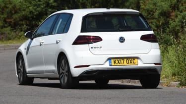 Long-term test - VW e-golf - rear