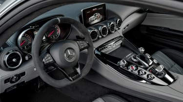 Mercedes-AMG GT C Edition 50 - interior