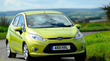 Ford Fiesta 1.4 Zetec front tracking