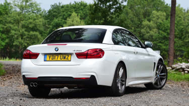 BMW 430i Convertible - rear roof closed