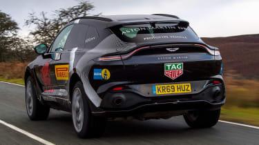 Aston Martin DBX prototype - rear