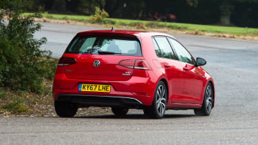 Volkswagen Golf - rear cornering