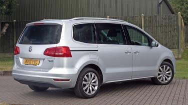 Used Volkswagen Sharan - rear