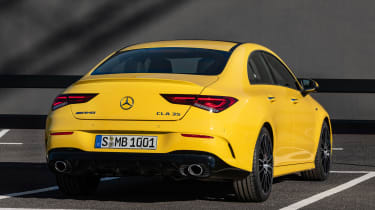 Mercedes-AMG CLA 35 - rear static