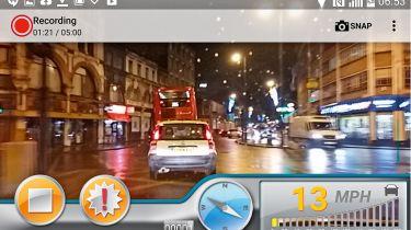 Dash cam app product test autoguard