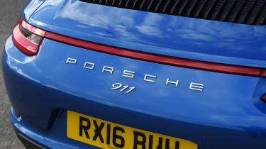 Porsche 911 Targa 2016 UK - rear close