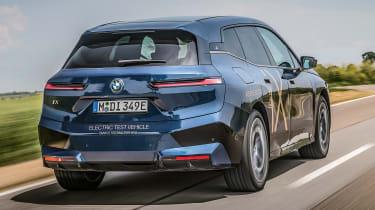 BMW iX prototype - rear