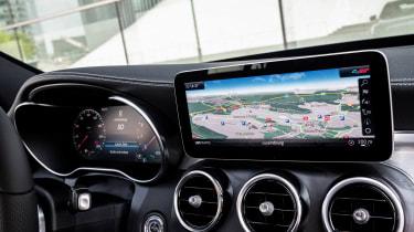 Mercedes C-Class - infotainment